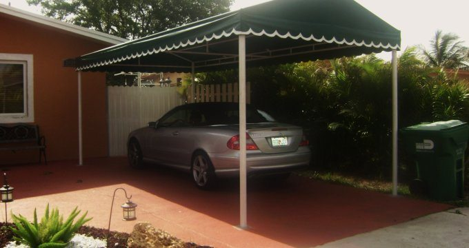 Fabric Carport Covers : Carports awnings all